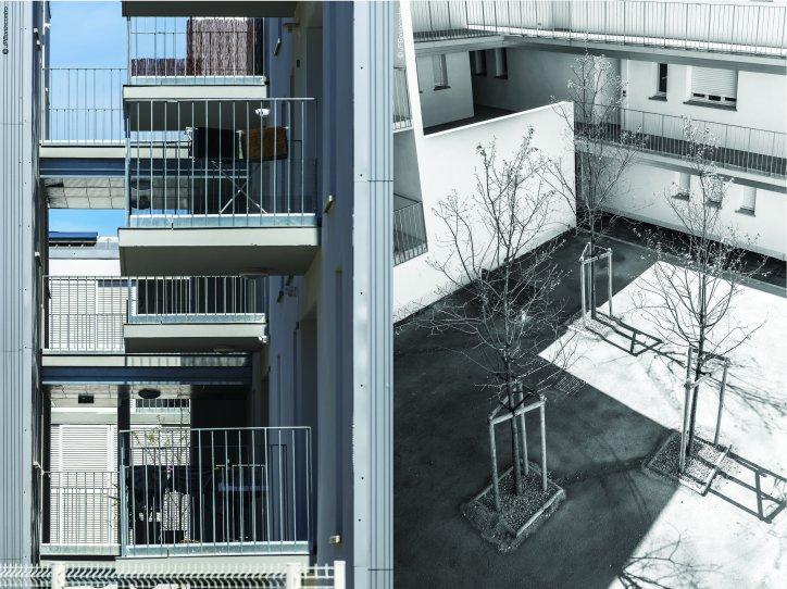 40 logements collectifs narbonne habitat audois. Black Bedroom Furniture Sets. Home Design Ideas